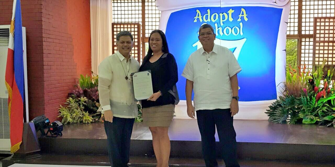 DepEd's 7th Adopt A School Appreciation Day 2015