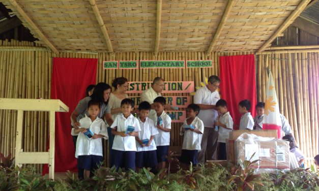 The kids of San Ysro Elementary School in Antipolo